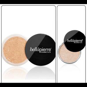 Bellapierre foundation and highlighter (bundle)